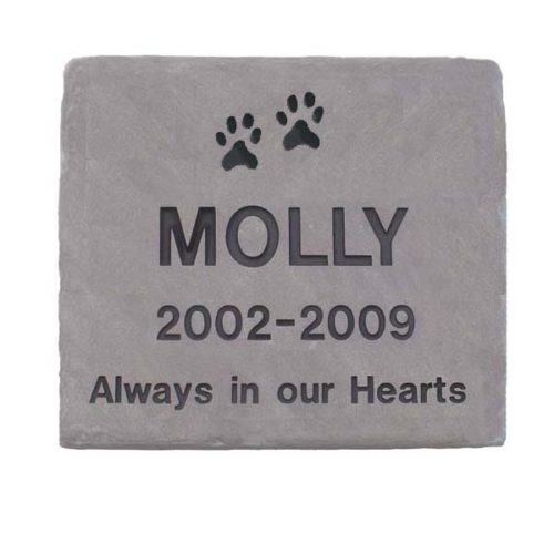 Lilac Flagstone Personalized Memorial Stone