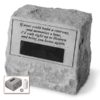 If Tears Could Build Personalized Headstone Urn