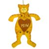Yellow Cat Meow Sign