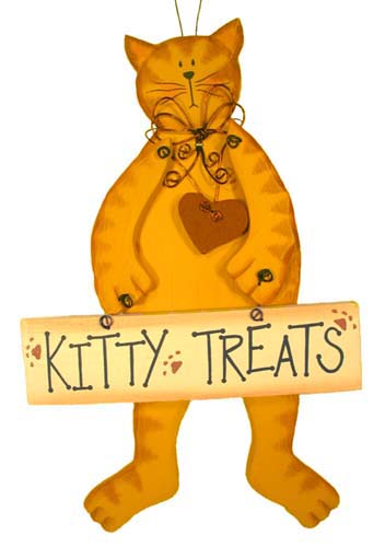 Kitty Treats Sign