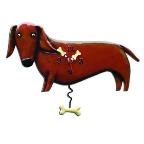 Oscar Wiener Dog Clock
