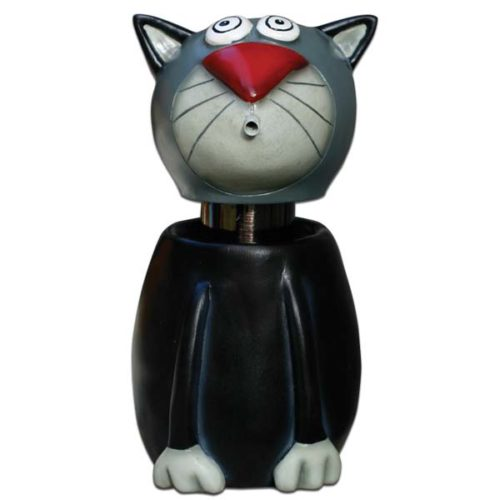 Black Cat Soap Spitter