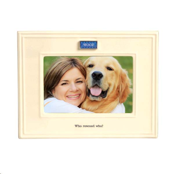 Who Rescued Who Shelter Dog Picture Frame Remmeercom