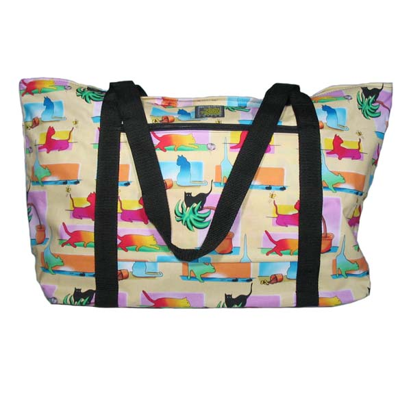 Colorful Cats Deluxe Tote