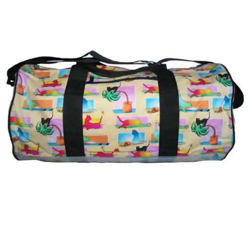 Colored Cats Duffel