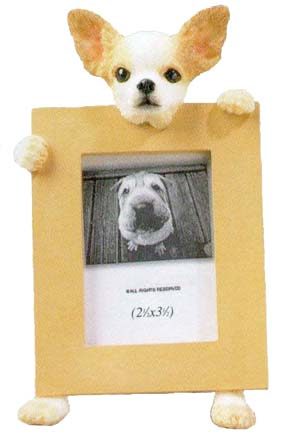 Chihuahua 2.5x3.5 Picture Frame
