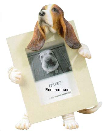 Basset Hound Photo Frame