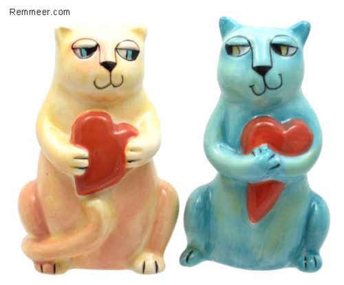 Cats Hearts S&P Shakers