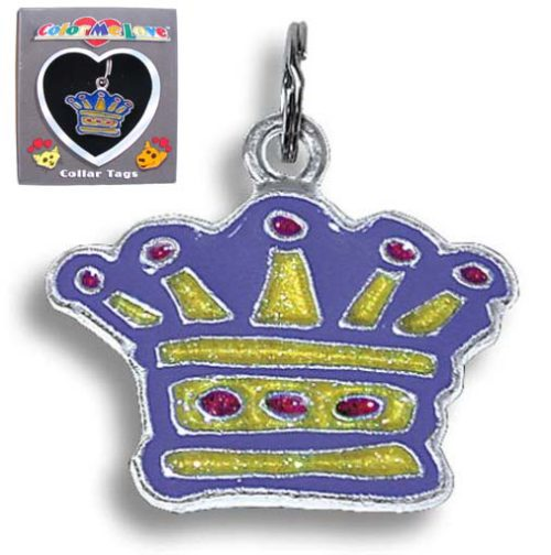 crown collar tag