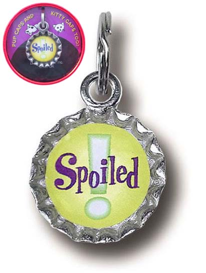 Spoiled Pet Collar Charm