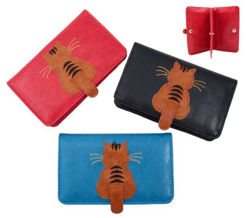 Sitting Cat Card Wallet