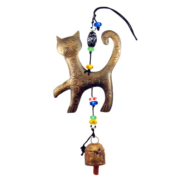 Proud Cat Wind Chime