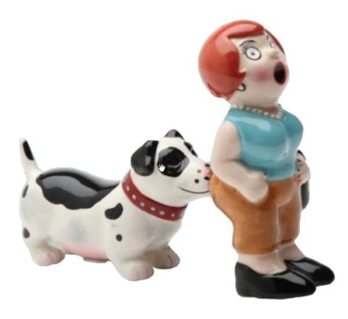 Lady & Dog Shakers