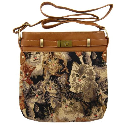 Cat Shoulder Tote