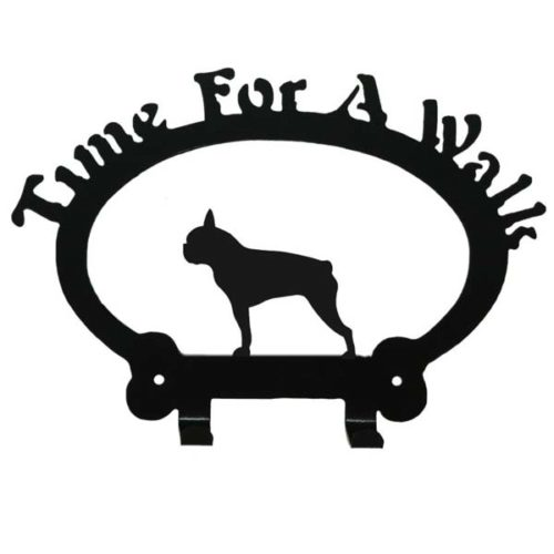 Boston Terrier Leash Rack