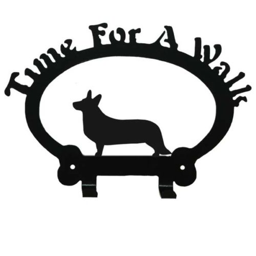 Cardigan Corgi Leash Rack